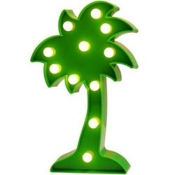 3D Tropical LED Palm Tree Light,Fiesta Party Decoration Palm Tree Signs,Wall Decor Holiday Birthday Party LED Marquee Lights,for Party Table Decorations,Cute Office Decor,Seasonal Home Dec