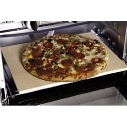Camp Oven Pizza Stone, Ceraic pizza stone pulls outer moisture off dough By Visit the Camp Chef Store