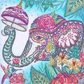 Chinatera Part Drill Special Shaped Diamond Painting DIY Elephant Rhinestone Poster