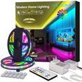 ViLSOM LED Strip Lights 65.6FT 20M 1080LEDs with 44Keys Remote, LED Lights for Bedroom, Room, TV, Kitchen and Christmas Decorations, RGB SMD2835 LED Tape Lights(2 Rolls of 32.8 Feet)