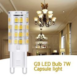 HOTBEST G9 LED Bulb 7W No Flicker And Energy Saving, Suitable For Indoor Lighting, Table Lamp, Pendant Lamp, Crystal Lamp, Window Lamp