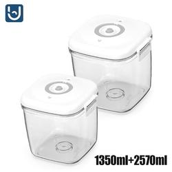 Youpin Vacuum Box Outdoor Picnic Food Storage Container Fruit Box Bento Box Food Sealed Box Portable Students Children Lunch Box
