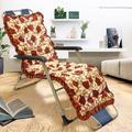 63 or 65inch Chaise Lounger Cushion Recliner Rocking Chair Sofa Mat Soft Cotton Cushion Tatami Mat Soft Comfortable For Garden Patio(3Type)