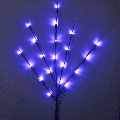 Branch Lights - Led Branches Battery Powered Decorative Lights Tall Vase Filler Willow Twig Lighted Branch for Home Decoration Warm White 20 LED Lights (Warm White)(4Pcs)