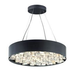 E32787-BKAL-ET2 Lighting-Pipes - 117W 26 LED Pendant - 30 Inches wide by 6.75 inches high