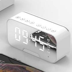 Bluetooth Alarm Clock Mirror Digital Alarm Clock Wireless Bluetooth Speaker irror Alarm Clock