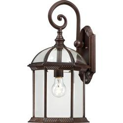 Nuvo Lighting 60/4965 Wall Sconces Boxwood Outdoor Lighting Outdoor Wall Sconces ;Rustic Bronze