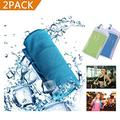 GEJULIC Cooling Towel More Effective Instant Cooling Chilly Cool Ice Wet Towel Sports, Workout, Fitness, Gym, Yoga, Pilates, Travel, Camping & More 2018 Updated Ice Wet Towel