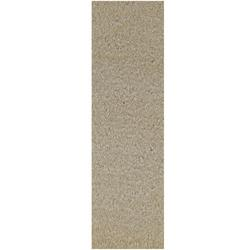 """Commercial Indoor/Outdoor Beige Custom Size Runner 3'6"""" x26' - Area Rug with Rubber Marine Backing for Patio, Porch, Deck, Boat, Basement or Garage with Premium Bound Polyester Edges"""