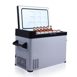 KARMAS PRODUCT Portable Mini Refriger for Car, DC12/24V, -7.6°F to 68°F, Car Refrigerator, Shockproof Design, LED Display, Mini Freezer for Driving, Travel, Fishing, Outdoor or Home Use 52qt