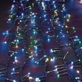 """Set of 2 Green Cord 1000 USB Cool Multi Color LED with 8/16 Function Timer 10.75"""""""