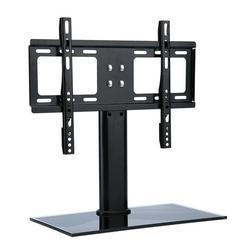 Akozon TV Stand Mount,TV Table Bracket,26-32 Adjustable Universal TV Stand Pedestal Base Mount Flat Screen TV Bracket Black