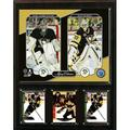 """NHL 12""""x15"""" Matt Murray - Marc-Andre Fleury Pittsburgh Penguins Legacy Collection Plaque"""