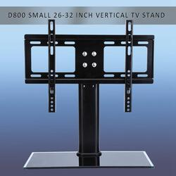 Gupbes Universal LED LCD Flat Screen TV Table Bracket With Stand/Base fits 26 -32 TV,Universal Table Top TV LCD LED Stand