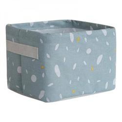 Household Cotton Linen Storage Basket Desktop Debris Toy Storage Box Multi-Function Storage Box