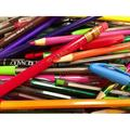 Colorful Pens Pencils Art Colors Colored Pencils-20 Inch By 30 Inch Laminated Poster With Bright Colors And Vivid Imagery-Fits Perfectly In Many Attractive Frames