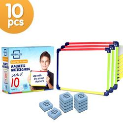 Dry Erase Boards 9�X12� Interactive Learning Whiteboard Single Sided Magnetic White Board Pack Of 10