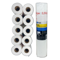 "Reli. Masking Film, 10 Rolls Bulk (90' Foot x 99"" Inch) - Masking Plastic Film for Painting, Automotive"