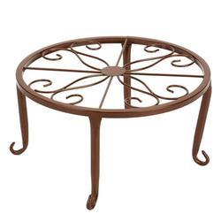 3 PCS Indoor Office Table Wrought Iron Flowerpot Stand European Style Iron Art Plant Stands Pot Holder