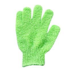 Ouneed 1Pair Shower Gloves Exfoliating Wash Skin Spa Bath Gloves Foam Bath Skid Resist