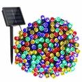 Christmas Lights 72 Feet 22 Meter 200 LED 8 Modes Solar Powered Fairy String Lights For Outdoor Indoor Garden Patio Lawn Landscape Xmas Tree Wedding Decoration Waterproof