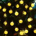 Bubble Shape Solar Light String Creative Christmas Decoration Light String Garden Ground Light