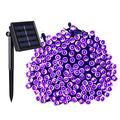 Solar String Lights, 200 Led 72Ft Christmas Lights String, Outdoor String Lights, Led Lighting String 8 Modes Waterproof, Outdoor Decorations For Home Party Garden Patio Yard Holidday Lawn Purple