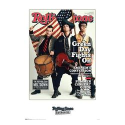 """Trends International Rolling Stone Magazine Green Day Wall Poster 22.375"""" x 34"""""""