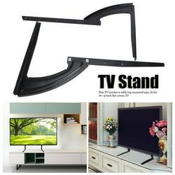 EZSPTO Table TV Stand,26~37inch Flat Screen TV Stand Adjustable Height Desktop Table Top Mount Bracket Holder, TV Bracket