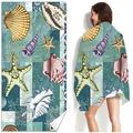 Ecosprial Oversized Beach Towels,Quick-drying Beach Towel,Microfiber Bath Towel,Suitable for Swimming Beach(27.56*55.12in)