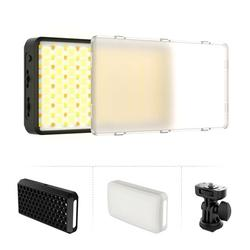 VIJIM VL196 Pocket RGB LED Video Light Photography Fill Light 2500K-9000K Dimmable CRI 95+ 20 Lighting Effects Built-in Rechargeable Battery for Live Broadcast Interview Portraits Weddings P