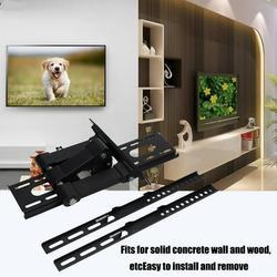 Akozon Universal Adjustable Wall Mount Stand Bracket Holder Rack for 17-55 inch LCD LED TV Display, TV Mount Holder, TV Mount Stand