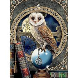 Chinatera Full Round Drill Mosaic Craft Picture DIY Eagle 5D Diamond Painting Poster