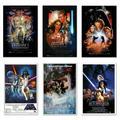 "Star Wars: Episode I, II, III IV, V & VI - 6 Piece Movie Poster / Print Set (Regular Styles 1) (Size: 24"" x 36"" each) (Poster & Poster Strip Set)"