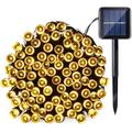 Solar LED Lights Christmas Lights Decorative Landscape Lighting,39ft 100 LED Outdoor Waterproof Fairy Solar String Lights for Outdoor/Indoor Garden,Patio,Backyard,Party,ect. (Warm White)-1Pack
