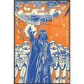 "Star Wars - Framed Movie Poster (Darth Vader & Stormtroopers - International) (Size: 24"" X 36"") (Metallic Anthracite Plastic Frame)"