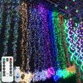 Htovila 4M 400 LED Firecracker Lights String USB 8 Lighting Modes Waterproof Outdoor Decoration Wedding Christmas