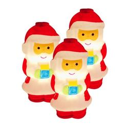 Aibecy LED Santa Claus Lights Christmas Decorative Lights Warm White Light Waterproof IP43 10 LED 1.5 Meters Light/ 10 LED 2 Meters Light/ 20 LED 3 Meters Twinkle