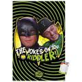 "Trends International DC Comics TV - Batman TV Series - Joke Wall Poster 14.725"" x 22.375"" Premium Poster & Mount Bundle"