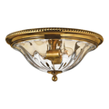 Rla Hinkley RL-87131 Flush Mounts Burnished Brass Solid Brass Belo Horizonte