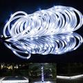LED Outdoor Solar Lamps 100 LEDs Rope Tube String Lights Fairy Holiday Christmas Party Solar Garden Waterproof Lights;LED Outdoor Solar Lamps Rope Tube String Lights Solar Garden Lights