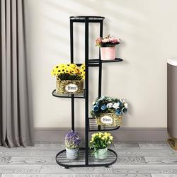 5 Tier/6 Tier Indoor Plant Stand, Flower Pot Rack, Multiple Flower Pot Holder, Vertical Shelf Planter Display Shelving Unit for Patio Garden Corner Balcony Living Room