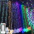 4M 400 LED Firecracker Lights String USB 8 Lighting Modes Waterproof Outdoor Decoration Wedding Christmas