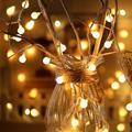 20 LEDs Garland LED Ball String Lights Waterproof Christmas Tree Wedding Home Indoor Decoration;20 LEDs Garland LED Ball String Lights Waterproof Christmas Tree Decor