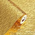 10M*53CM 3D Waterproof Glitter Mirror Effect Mini Mosaic Sparkle Light Reflection Gold Foil Silver Foil Wallpaper KTV Bar Counter Column Wallpaper