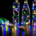 JUMPER 6.57 FT 20 LED Wine Bottle Lights String Lights Fairy Wire Light Battery Operated Fairy Mini String Lights for Wedding Party Christmas Halloween Wine Liquor Bottles Crafts Table Decor
