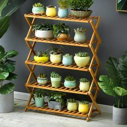 Flower Pot Plant Stand Flower Planter Rack Shelf Shelves Organizer Garden 5 Tiers