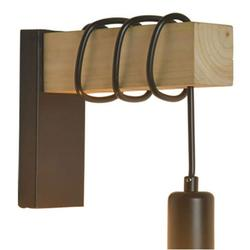 Tomshoo Wood Wall Lamp Industrial Design Retro Wall Lamp Fixture Living Room Decoration Wall Lamp