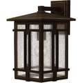 Wall Sconces 1 Light With Oil Rubbed Bronze Clear Seedy Aluminum Medium Base 15 inch 100 Watts