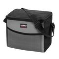 Insulated Lunch Box, Lunch Bag for Men Women Soft Leakproof Lunchbox for Kids School Work Reusable Thermal Lunch Cooler, Shoulder Strap Fits 6 Bottle, Black, 9.5L
